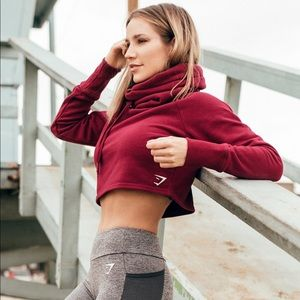 Gymshark Slouch Cropped Hoodie